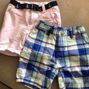 2 pairs Janie and jack shorts